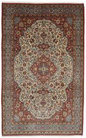 Ghom Kork/De Seda Alfombra 254X375 Oriental Hecha A Mano Marrón Oscuro/Marrón Claro Grande (Lana/Seda, Persia/Irán)