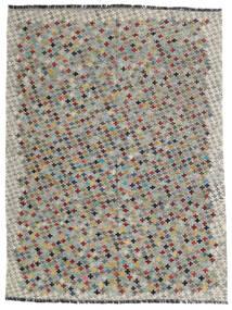 Kilim Afghan Old Style Alfombra 172X230 Oriental Tejida A Mano Gris Claro/Gris Oscuro (Lana, Afganistán)