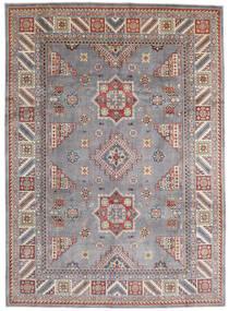 Kazak Alfombra 250X346 Oriental Hecha A Mano Gris Claro/Gris Oscuro Grande (Lana, Afganistán)