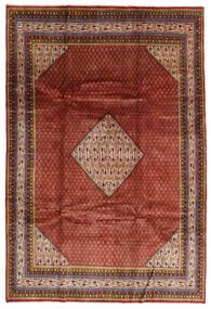 Sarough Mir Alfombra 209X308 Oriental Hecha A Mano Rojo Oscuro/Marrón Oscuro (Lana, Persia/Irán)