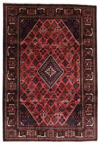 Joshaghan Alfombra 203X291 Oriental Hecha A Mano Rojo Oscuro/Marrón Oscuro (Lana, Persia/Irán)