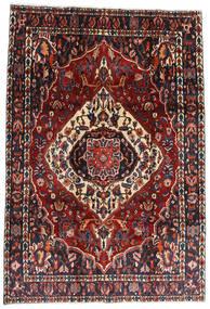 Bakhtiar Alfombra 207X300 Oriental Hecha A Mano Rojo Oscuro/Negro (Lana, Persia/Irán)