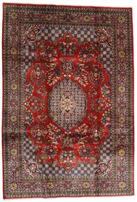 Golpayegan Alfombra 215X307 Oriental Hecha A Mano Rojo Oscuro/Negro (Lana, Persia/Irán)