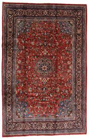 Mahal Alfombra 207X317 Oriental Hecha A Mano Rojo Oscuro/Negro (Lana, Persia/Irán)