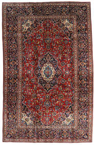 Keshan Alfombra 205X320 Oriental Hecha A Mano Rojo Oscuro/Marrón Oscuro (Lana, Persia/Irán)
