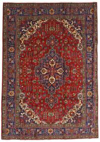 Tabriz Alfombra 240X333 Oriental Hecha A Mano Rojo Oscuro/Gris Oscuro (Lana, Persia/Irán)