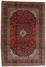 Keshan Alfombra 245X354 Oriental Hecha A Mano Marrón Oscuro/Rojo Oscuro (Lana, Persia/Irán)