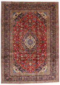 Keshan Alfombra 250X344 Oriental Hecha A Mano Marrón Oscuro/Rojo Oscuro Grande (Lana, Persia/Irán)