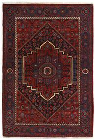 Gholtogh Alfombra 104X152 Oriental Hecha A Mano Rojo Oscuro (Lana, Persia/Irán)