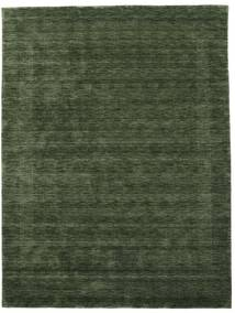 Handloom Gabba - Verde Hierba Alfombra 210X290 Moderna Verde Oscuro (Lana, India)