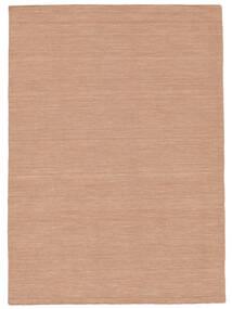 Kilim Loom - Dusty Rose Alfombra 160X230 Moderna Tejida A Mano Roja/Rosa Claro (Lana, India)