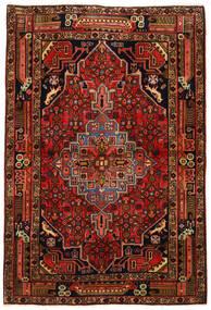 Koliai Alfombra 104X155 Oriental Hecha A Mano Marrón Oscuro/Óxido/Roja (Lana, Persia/Irán)