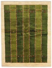 Gabbeh Persia Alfombra 146X190 Moderna Hecha A Mano Verde Oscuro/Beige (Lana, Persia/Irán)