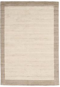 Handloom Frame - Natural/Sand Alfombra 160X230 Moderna Beige/Gris Claro (Lana, India)
